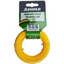 Arnold - Fil nylon 2,0mm x 15m, rond - 1082-U1-0003