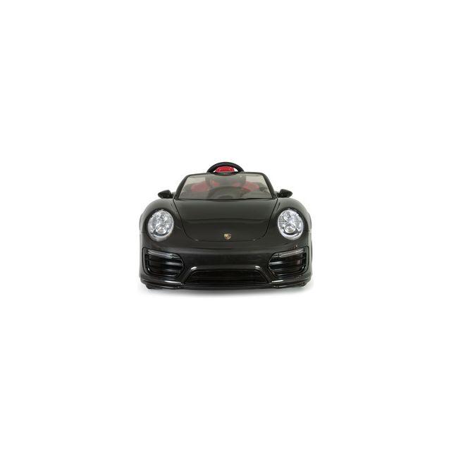 Injusa Voiture électrique Porsche 911 Turbo S 12V iMove noire