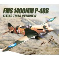 Famous - FMS - FMS 1400MM P-40B Flying Tiger PNP