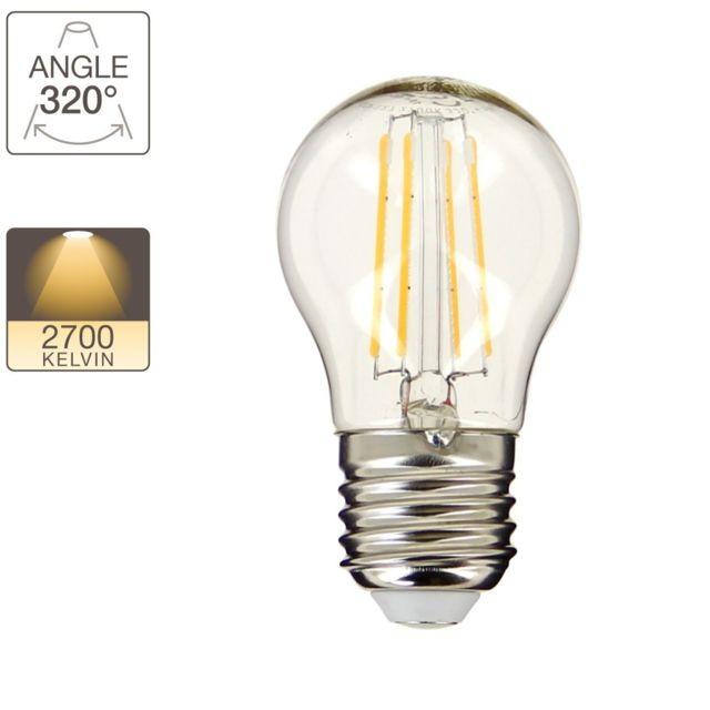 xanlite ampoule led p45 culot e27 retro led pas cher achat vente ampoules led. Black Bedroom Furniture Sets. Home Design Ideas