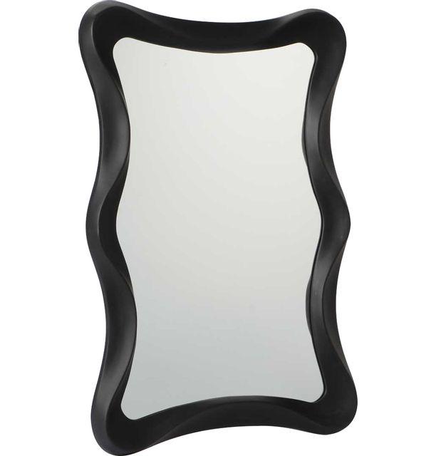 AMADEUS Miroir 100cm noir mat Bloom
