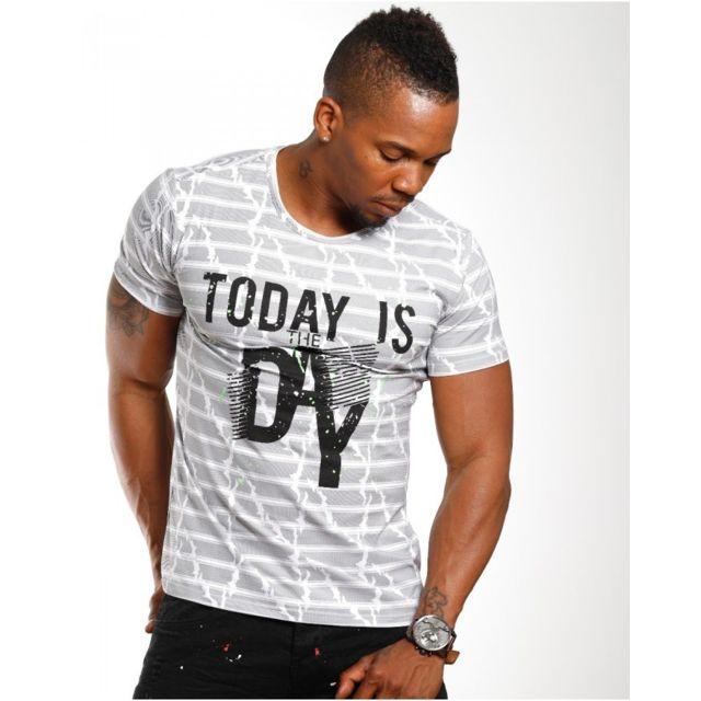 553d9160ebb99 Beststyle - T-shirt homme fashion noir - pas cher Achat   Vente Tee ...
