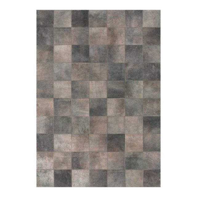 angelo tapis patchwork en peau de vache gris starless pas cher achat vente tapis. Black Bedroom Furniture Sets. Home Design Ideas