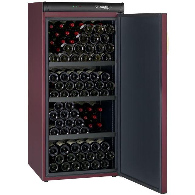 climadiff cave vin de vieillissement cvp 168 pas cher achat vente cave vin rueducommerce. Black Bedroom Furniture Sets. Home Design Ideas