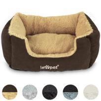 Leopet - Lit pour chien / chat - disponible en 5 couleurs blanc