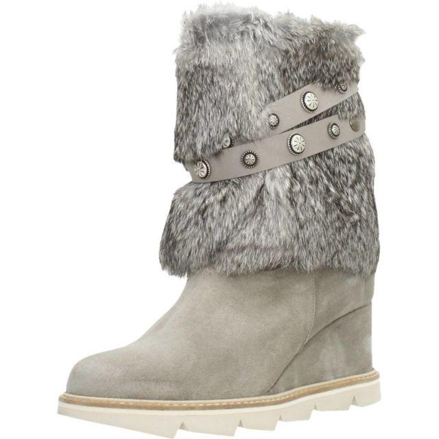 Sommits Boots, bottines et bottes femme 5282 Zep45, Gris