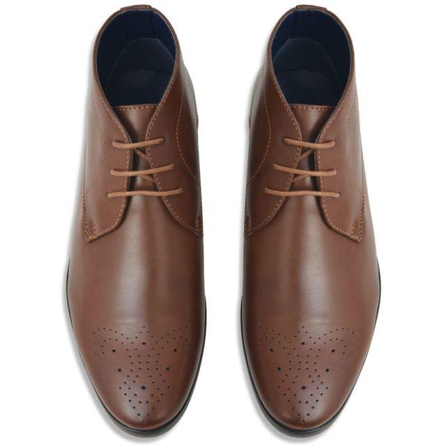 accessoires hommes Vêtements à Marron 42 Pointure Cuir et pour lacets Pu Sanaa Contemporain ensemble Bottines 6g7ybYf