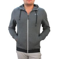 Lotto - Veste hoodie bryan iii gris anthracite