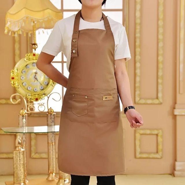 Wewoo Tablier De Cuisine De Couleur Pure Pour Femme Homme Chef