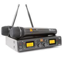 Power Dynamics - Pd781 Système sans fil avec Microphone 2 x 8 canaux Uhf