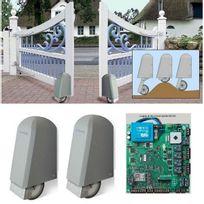 Elka - Automatisme 24V Roller 2 pour portail battant 2 vantaux