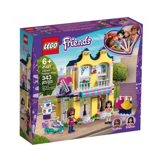 Lego 41427 La boutique de mode d Emma Friends