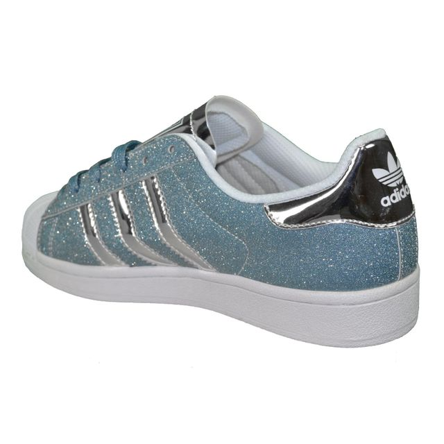 adidas superstar bleu paillette