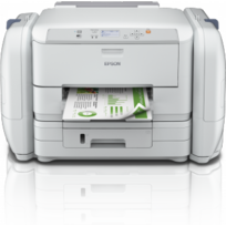 Epson - WorkForce Pro Rips Wf-r5190DTW WiFi, Ethernet, Recto Verso, Pdl + bac 250 feuilles / Réservoirs