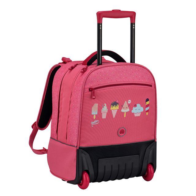 110b660abae9 Delsey - Cartable School 2017 sac à dos Wps Vertical - pas cher Achat   Vente  Cartables, sacs à dos primaire - RueDuCommerce