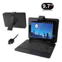 Yonis - Housse clavier universelle tablette tactile 9.7 pouces Mini Usb Noir