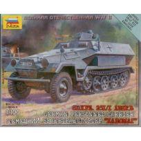 Zvezda - Sd.Kfz.251/1 Ausf.B 1/100