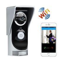 Yonis - Portier Vidéo Sans Fil Interphone Wifi Étanche Visiophone Android Ios