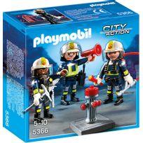 PLAYMOBIL - CITY ACTION - Unité de pompiers - 5366