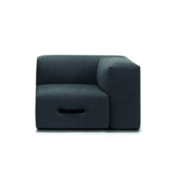 Conmoto Miami Sofa Eckmodul - droit - gris clair