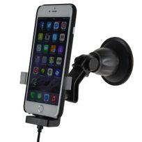 Kram - Fix2Car support actif pour Apple iPhone 6 6s Plus coque Incl. Mfi charging & data cable