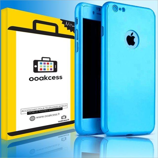 coque bleu apple iphone 7 plus