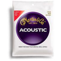 Martin - M140 Cordes guitare folk light .012054