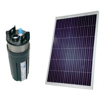 Shurflo - Kit pompe solaire 80W puits forage pompe 9325, débit 200 l/h