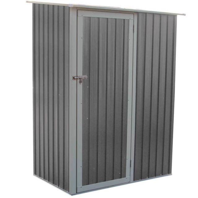 Gjöll 1,27m2 Armoire d\'extérieur en tolle galvanisée. Avec serrure solide