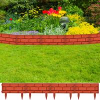 Justdeco superbe bordures de jardin imitation brique 11 for Bordure de jardin en pvc pas cher