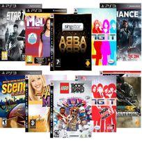 Autre - Pack 10 Jeux Musicaux - Ps3