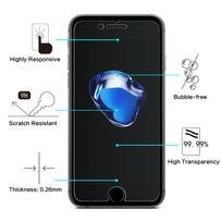 """Cabling - iPhone 7 Plus 5,5 pouces, Protection d'ecran, Film Protecteur Vitre en Verre Trempe pour iPhone 7 Plus 5.5"""", Ultra Transparent Ultra Résistant Inrayable Invisible , Sans Bulle"""