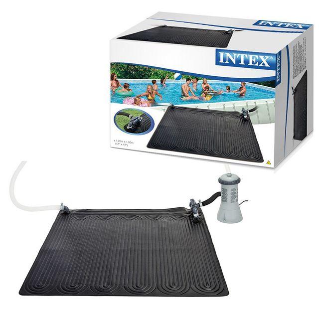 Intex chauffage solaire pour piscine hors sol 3 5 c - Chauffage solaire pour piscine intex ...