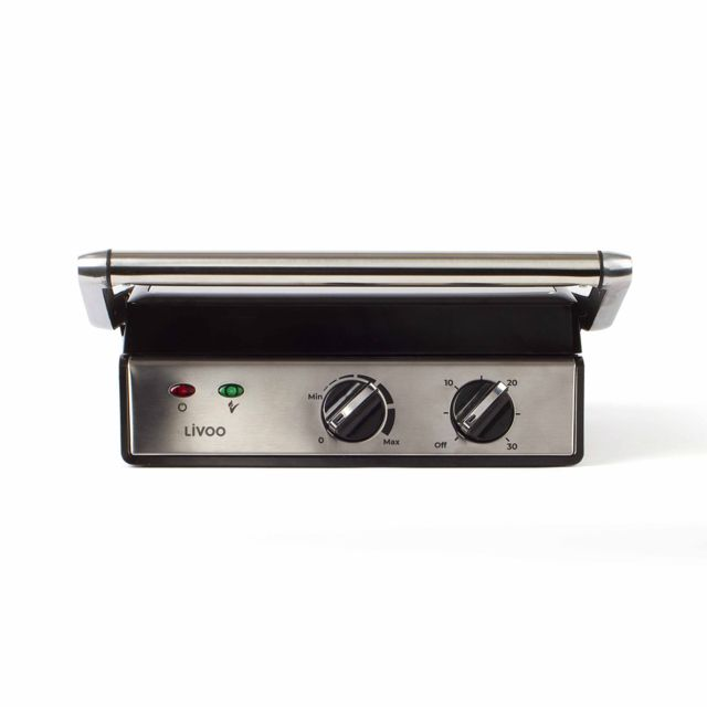 LIVOO gril viande et panini 2000w 627cm2 - doc221