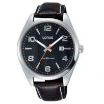 Lorus - Montre Homme modèle Classique Marron et Noire - Rh957GX9 - cadeau idéal