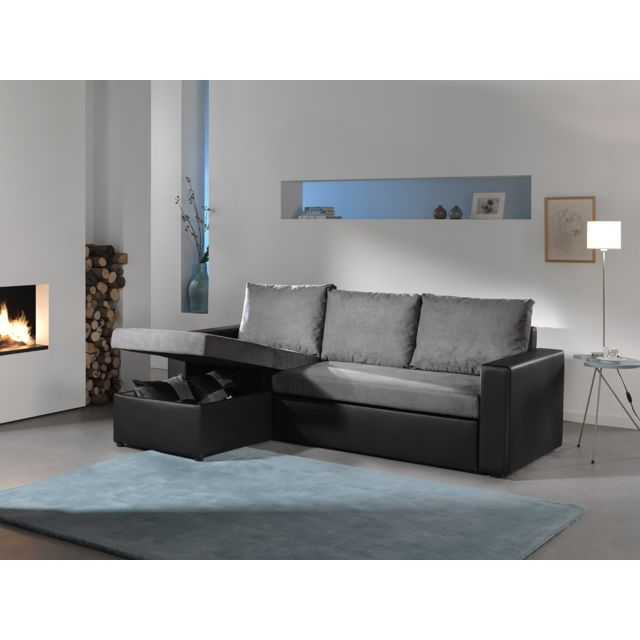 Bestmobilier Orlando Canape D Angle Convertible Reversible 4