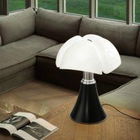 Pipistrello - Lampe Noir pied télescopique H66-86cm