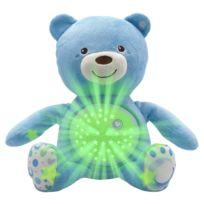 Chicco - Ourson Projecteur Baby Bear : Bleu