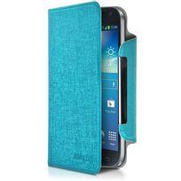 Karylax - Housse Etui à Rabat Universel L Couleur Turquoise pour Samsung Galaxy Express Prime