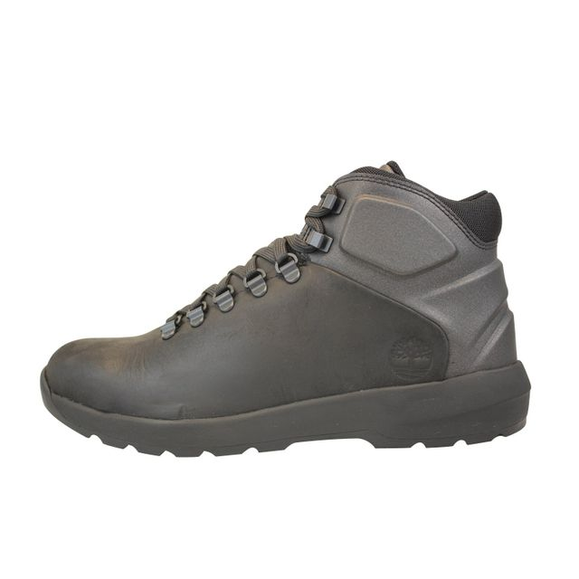 Timberland Westford Mid Leather Noir pas cher Achat