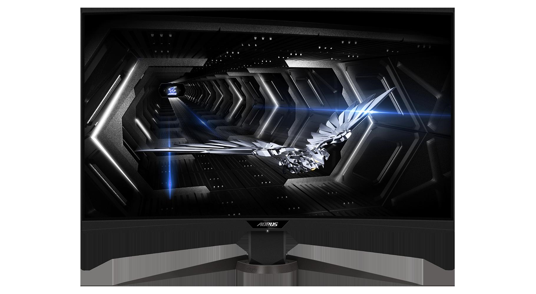 Écran PC Gamer incurvé CV27Q 27'' LED AORUS
