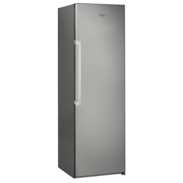 HOTPOINT - réfrigérateur 1 porte 371l a+ brassé inox - sh81qxrfd