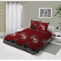 housse couette galets achat housse couette galets pas cher rue du commerce. Black Bedroom Furniture Sets. Home Design Ideas