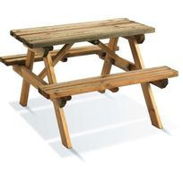 Jardipolys - Table pique-nique Wapiti pour enfants
