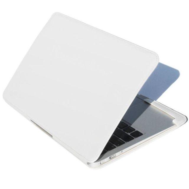 marque generique housse candy macbook air 13 39 39 blanc. Black Bedroom Furniture Sets. Home Design Ideas