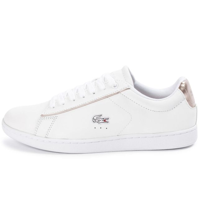 1b758ff232 Lacoste - Carnaby Evo Blanche - pas cher Achat / Vente Baskets homme ...