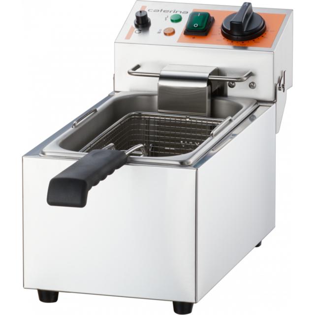 Materiel Chr Pro Friteuse Inox Simple 4 à 5 L - 2 kW - Stalgast - 4.0 l