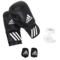 online store eaa80 e253c Adidas - Gants de boxe Kit de boxe noir Noir 60314