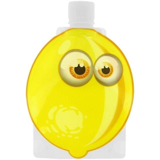 Gourde souple pour enfant - Citron - Little Cook