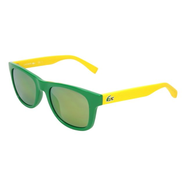 Lacoste - Lunettes de solei L-790-SOG 315 Mixte Vert - pas cher Achat   Vente  Lunettes Tendance - RueDuCommerce a0e07acb0754